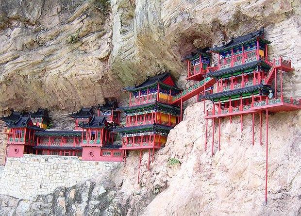 Cliff Hanging Monastery, China
